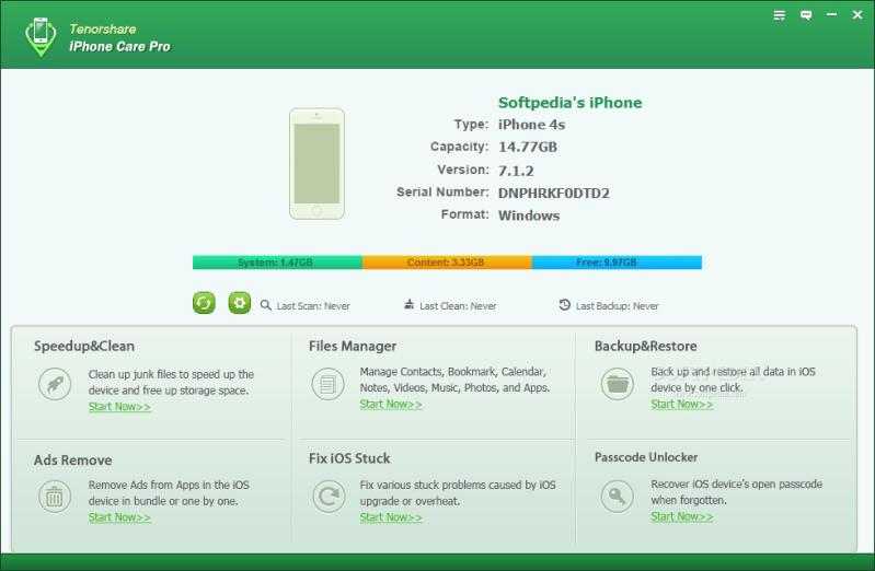 enorshare iCareFone crack licence key
