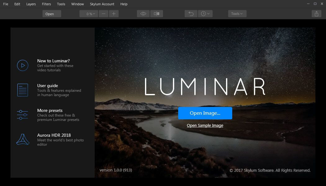 luminar crack for mac