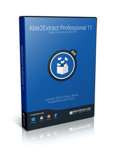 Able2Extract Professional crack keygen