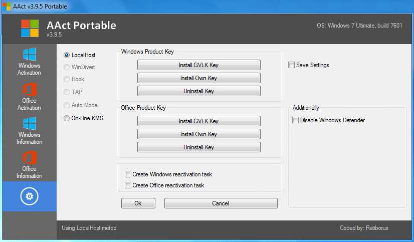 AACT Portable crack licence key