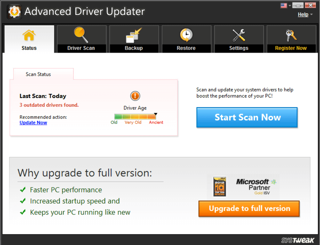 Advanced Driver Updater crack for patch