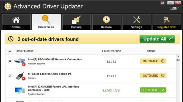 Advanced Driver Updater crack licence key