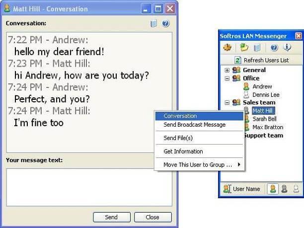 Softros LAN Messenger crack licence key