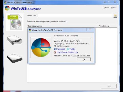 WinToUSB Enterprise crack activation key