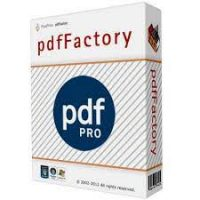pdfFactory Pro 8.02 Crack + Serial